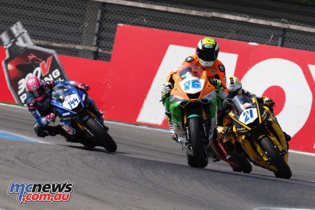 Jules Cluzel clinched the World Supersport win
