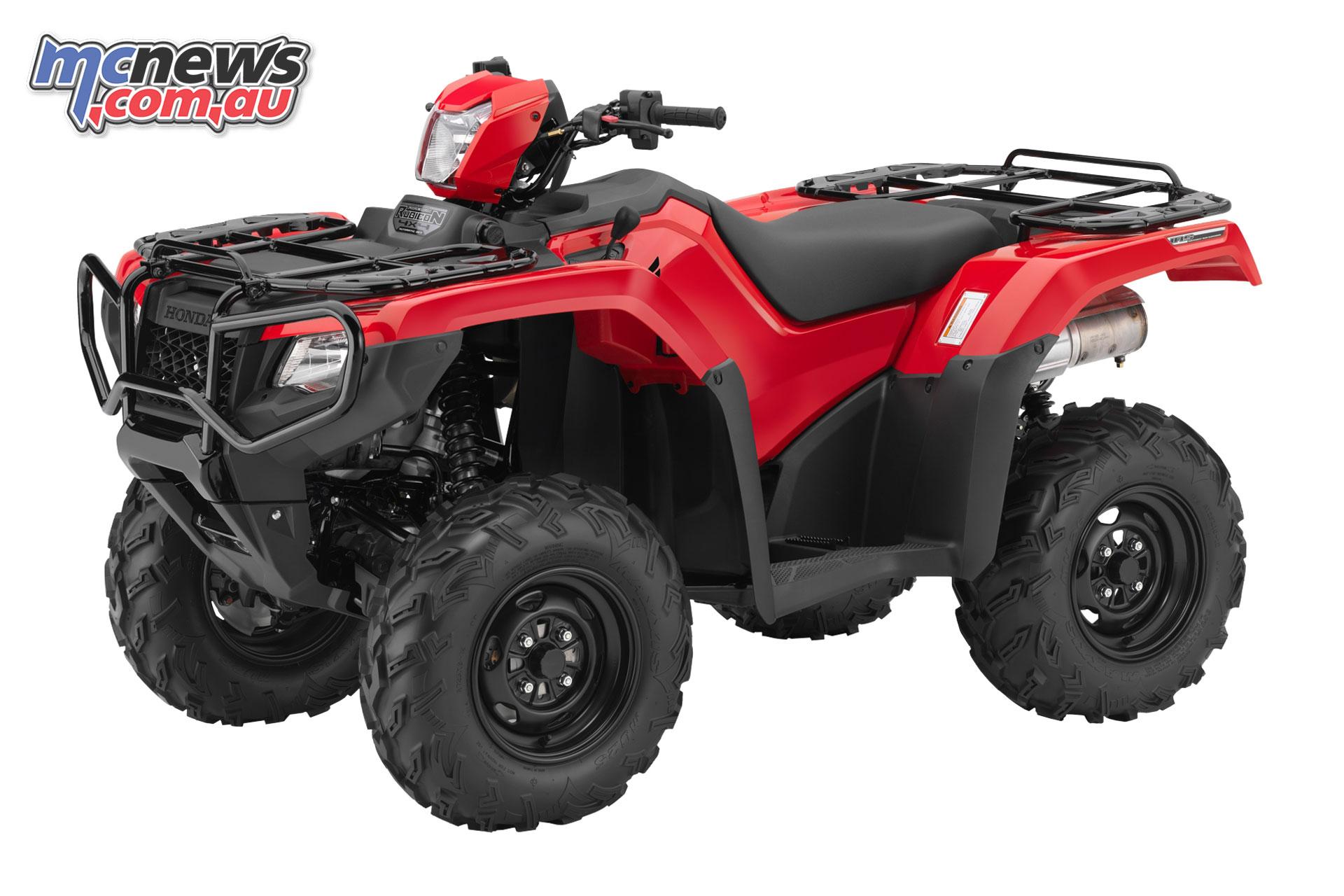 Honda's TRX500FA6