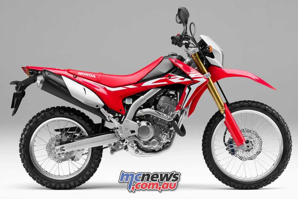 Honda's CRF250L