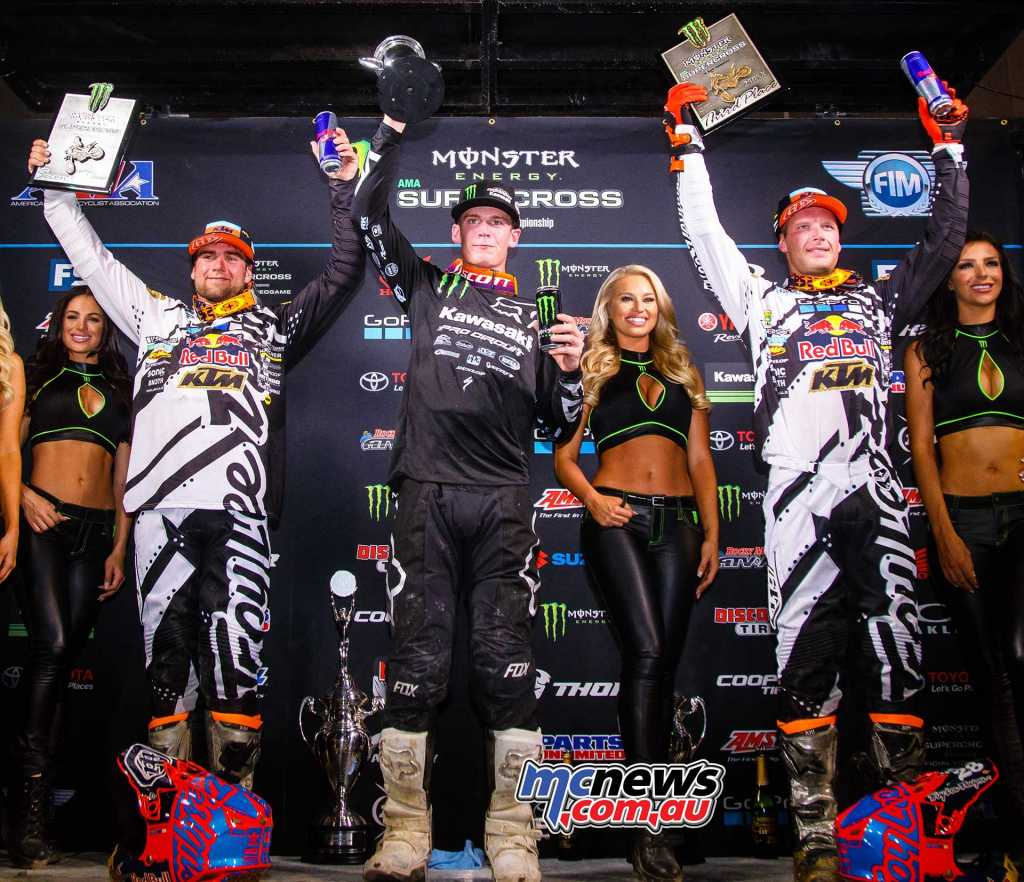 Adam Cianciarulo topped the 250SX Main Event