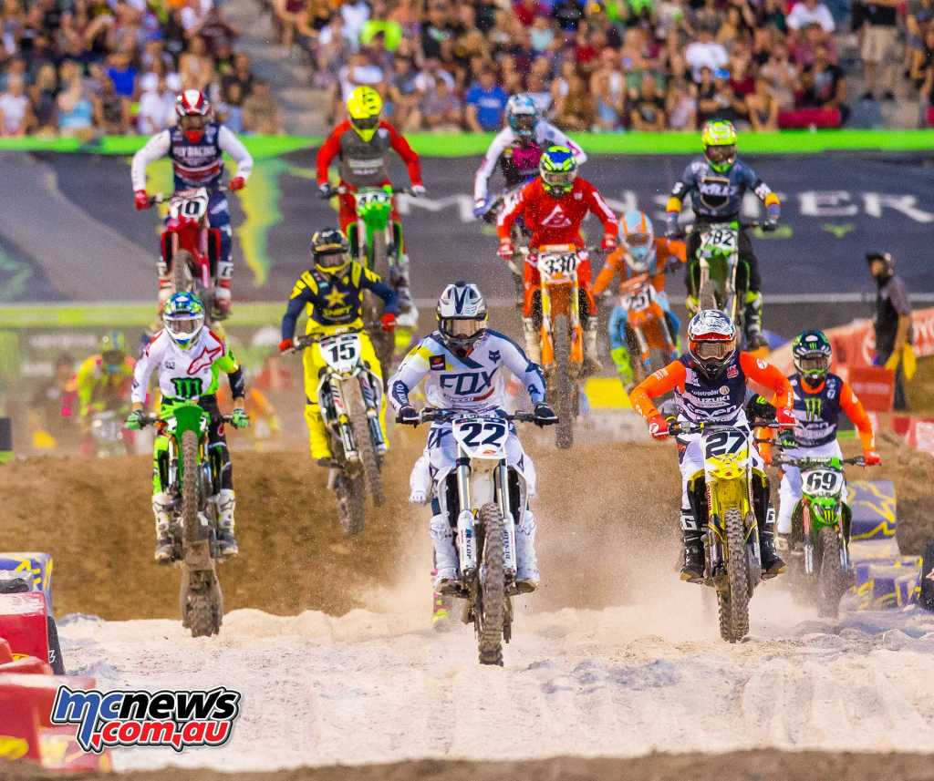 Chad Reed in the Main Event Final start