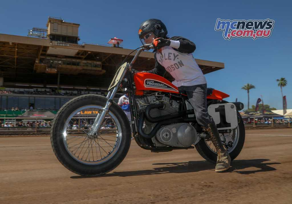 Arizona Mile 2018 - Indian might have won a trifecta but this Harley XR750 was still a star of the show