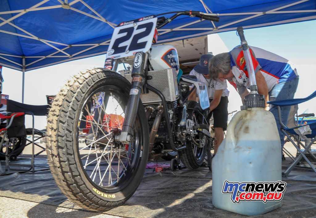 Arizona Mile - James Monaco - Kawasaki 650