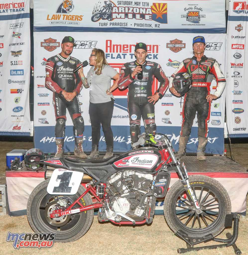 2018 Arizona Mile Results Jared Mees - Indian Brad Baker - Indian +0.937 Henry Wiles - Indian +4.175