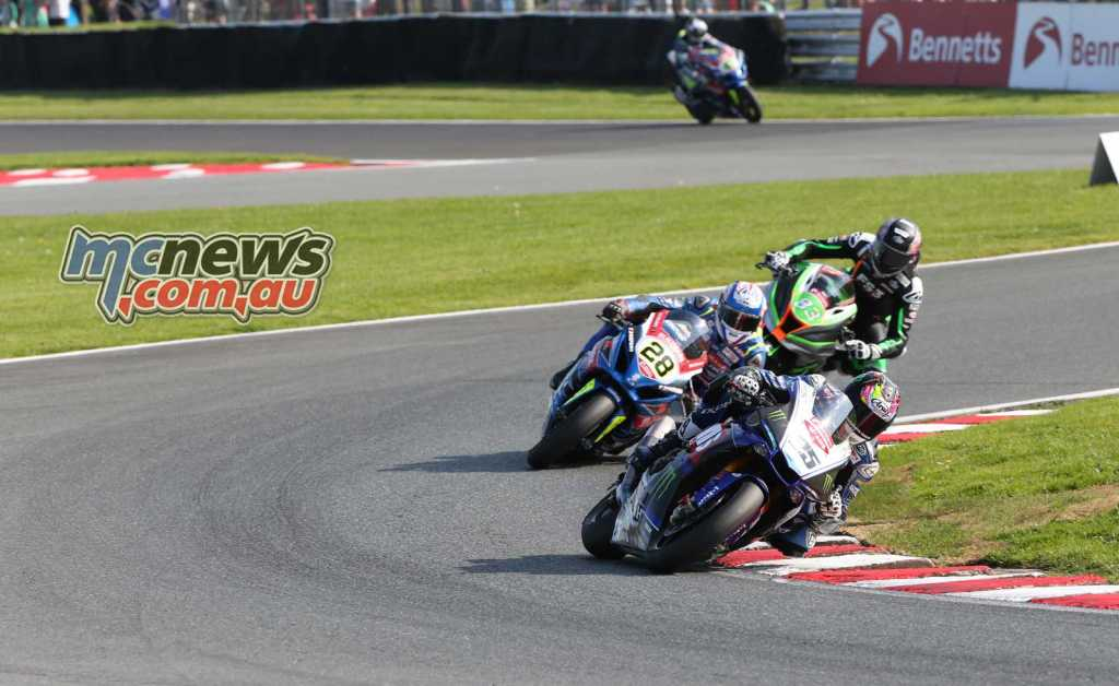 Josh Brookes leads Bradley Ray
