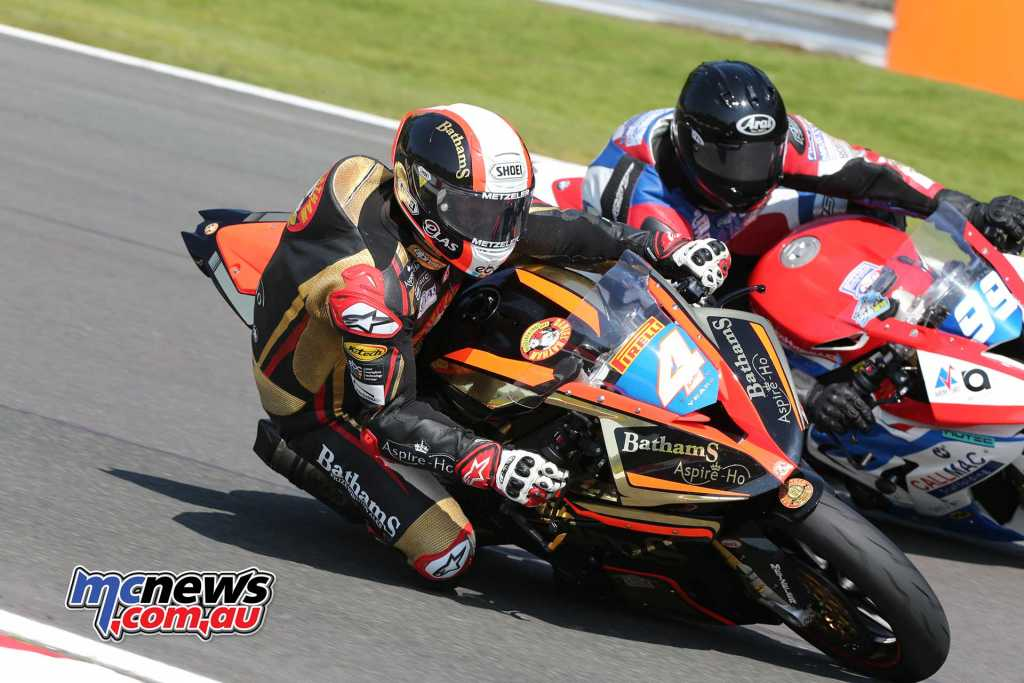 Michael Rutter in action at Oulton Park last weekend - Image Dave Yeomans
