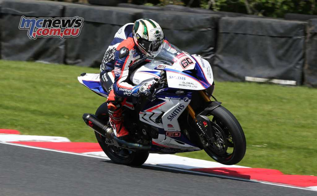 Peter Hickman in action at Oulton Park last weekend - Image Dave Yeomans
