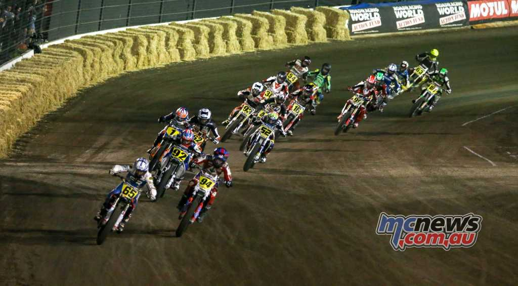 2018 Calistoga Half-Mile - AFT Singles - Cory Texter and Ryan Wells do battle, it was the #94 Honda of Wells that came out on top with victory while Cory Texter eventually slipped to seventh