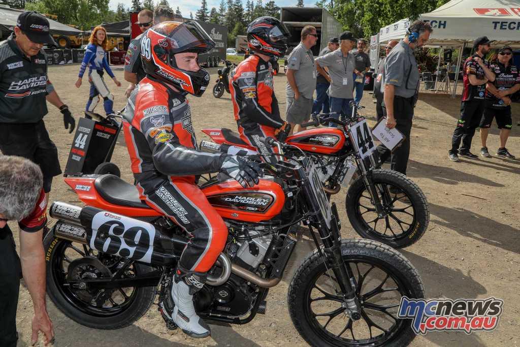 Harley XG750R - Sammy Halbert.