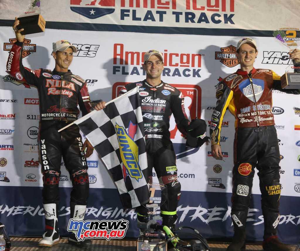 2018 Calistoga Half-Mile Results Jared Mees - Indian Jeffrey Carver Jr. - Indian +0.114 Kenny Coolbeth Jr. - Indian +3.711