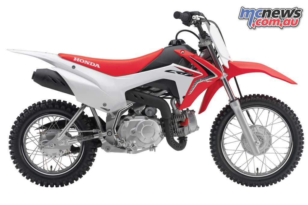Honda's CRF110F