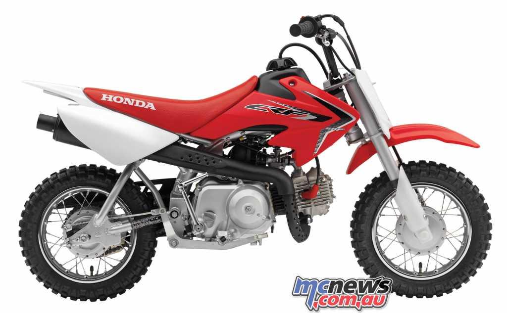 The Honda CRF50F