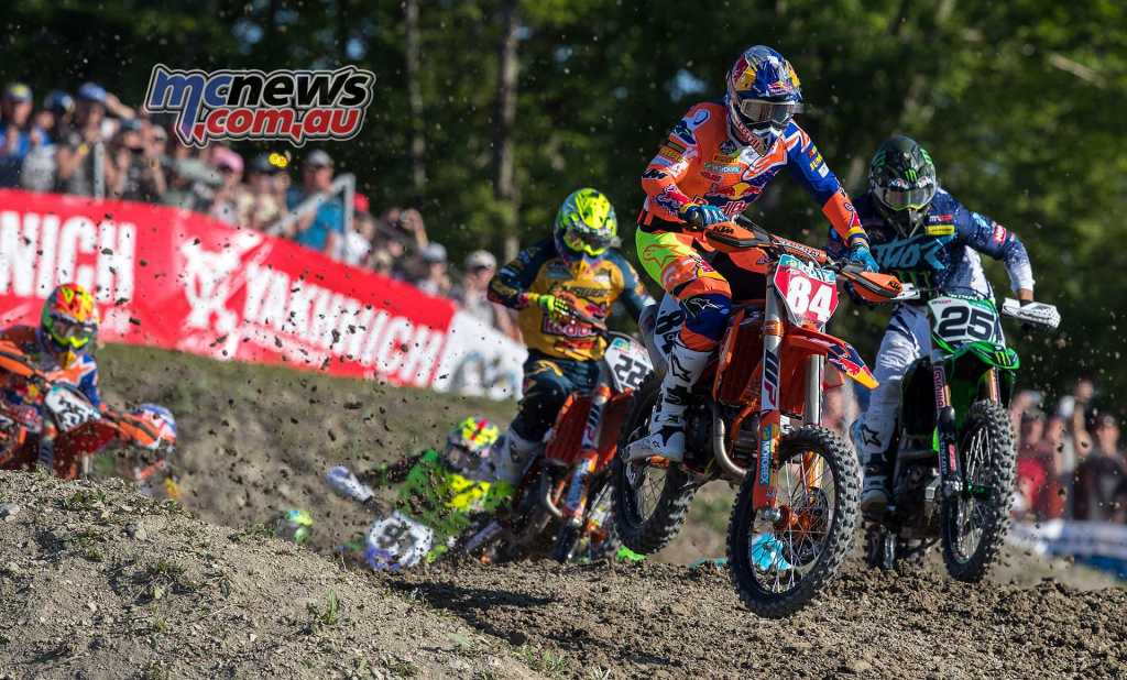 Jeffrey Herlings maintains a 23-point lead over KTM team-mate Antonio Cairoli