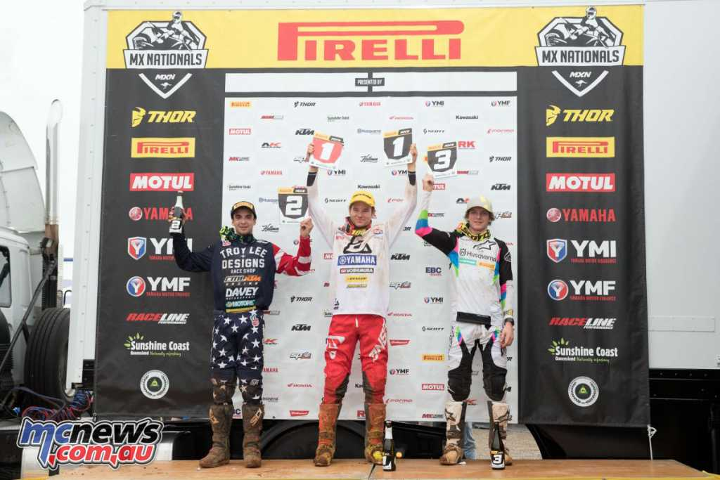 MX Nationals 2018 - Murray Bridge Round 5 - Pirelli MX2 Podium