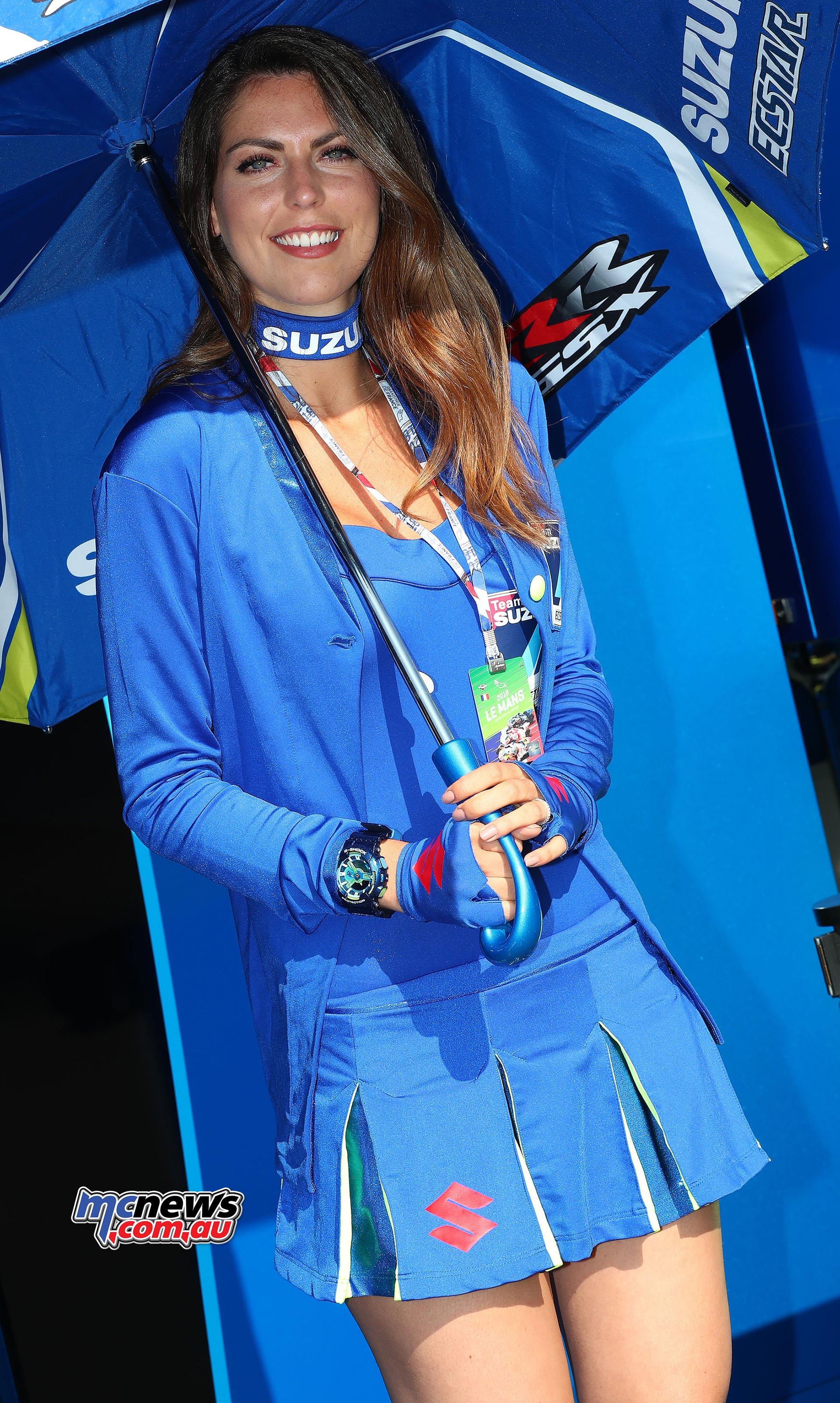 2018 Le Mans Motogp 2018 Grid Girls Mcnews Com Au