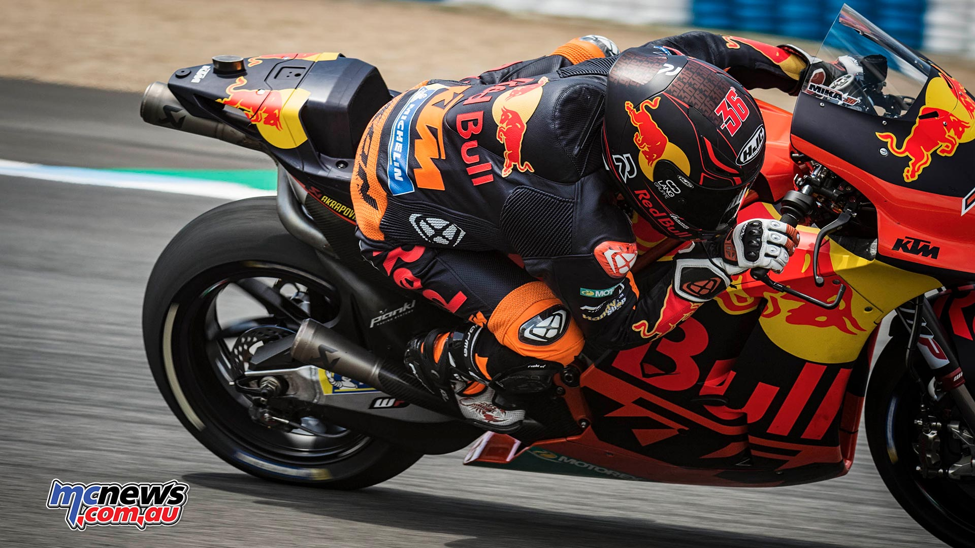 Ktm Test New Motogp Prototypes In Spain Motorcycle News Sport And Reviews