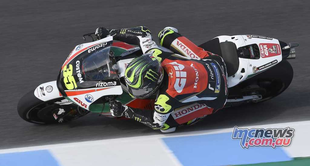 Argentina GP winner Crutchlow was back on top on Friday in Jerez
