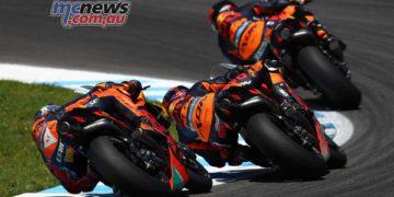 Three KTM's - Image by AJRN