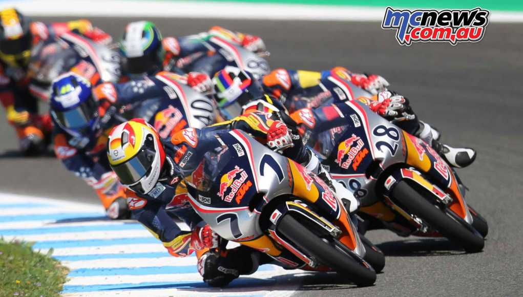 The Red Bull MotoGP Rookies Cup kicked off in Jerez alongside the MotoGP round