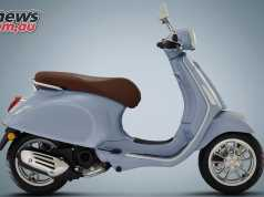 Vespa Primavera 50 4T will be available for $5090 + ORC