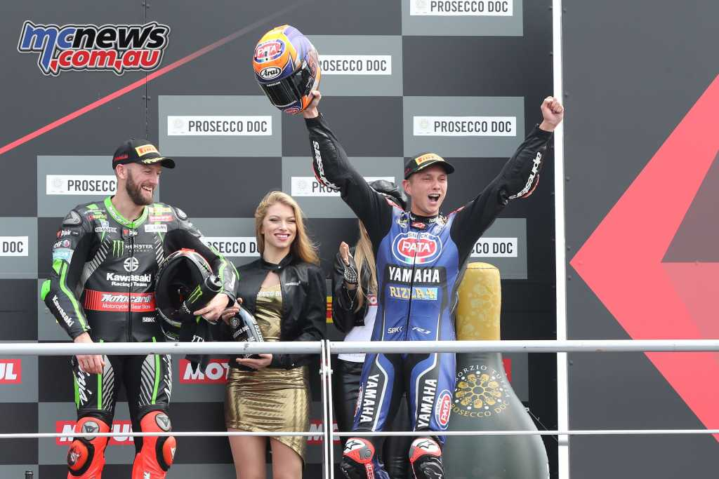 It was a perfect weekend for Michael van der Mark, taking the double win