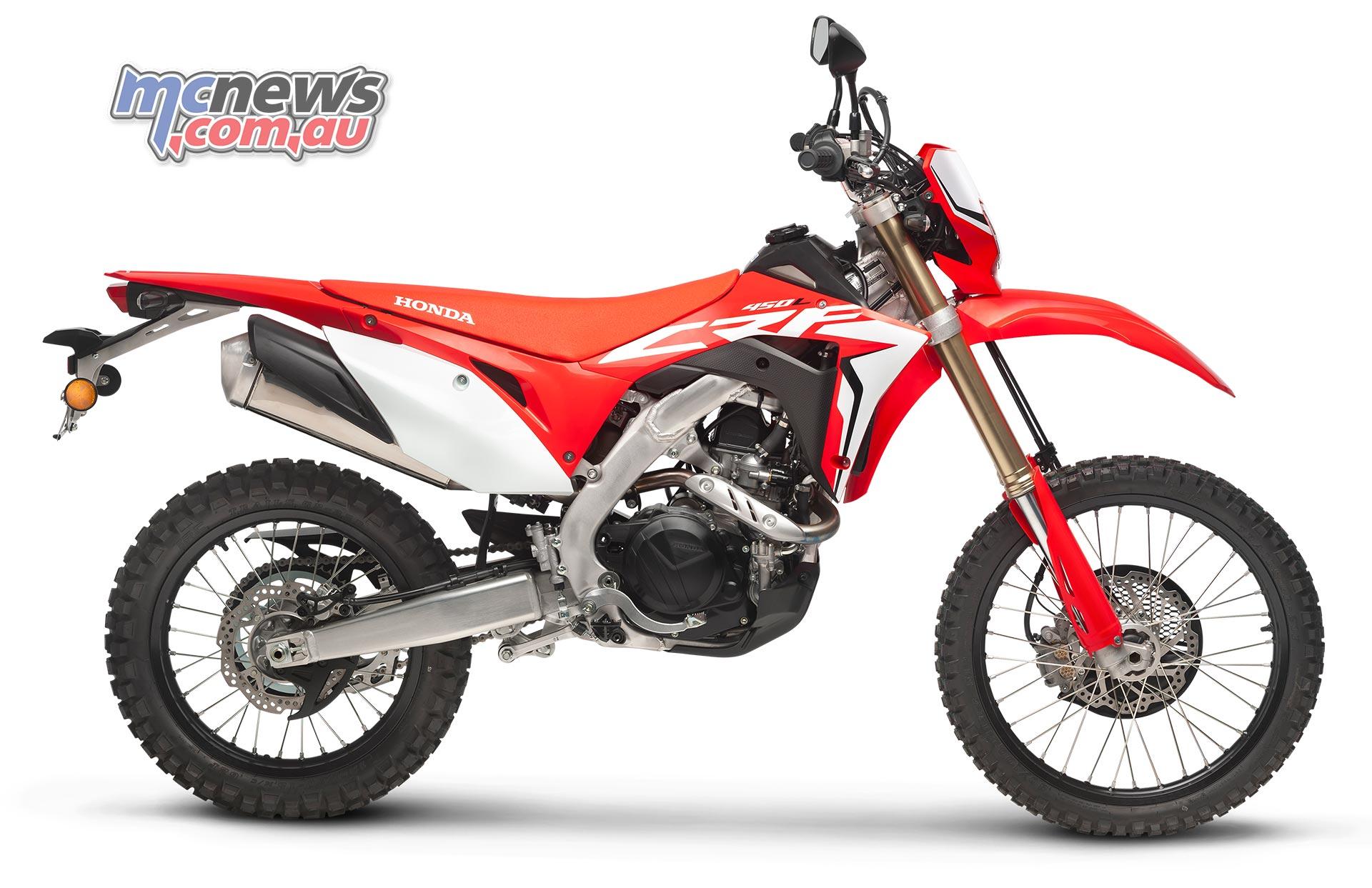 Honda Crf450r Based Road Legal Enduro Bike On Way Mcnewscomau