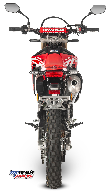 Honda Crf 80 >> Honda CRF450R based road legal enduro bike on way | MCNews ...