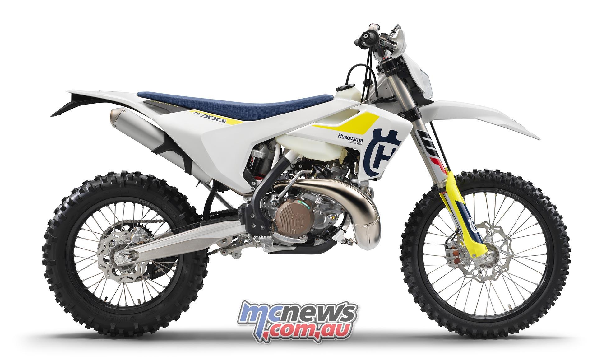 Husqvarna two-stroke enduro bikes EFI only from 2019