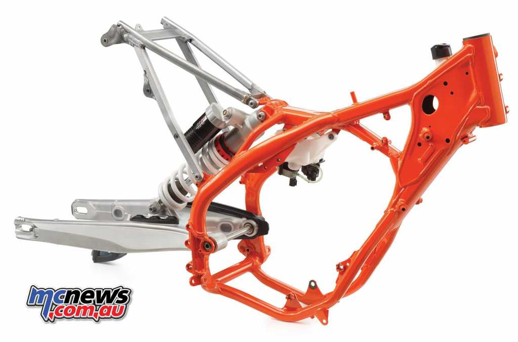 2019 KTM 250 300 EXC frame