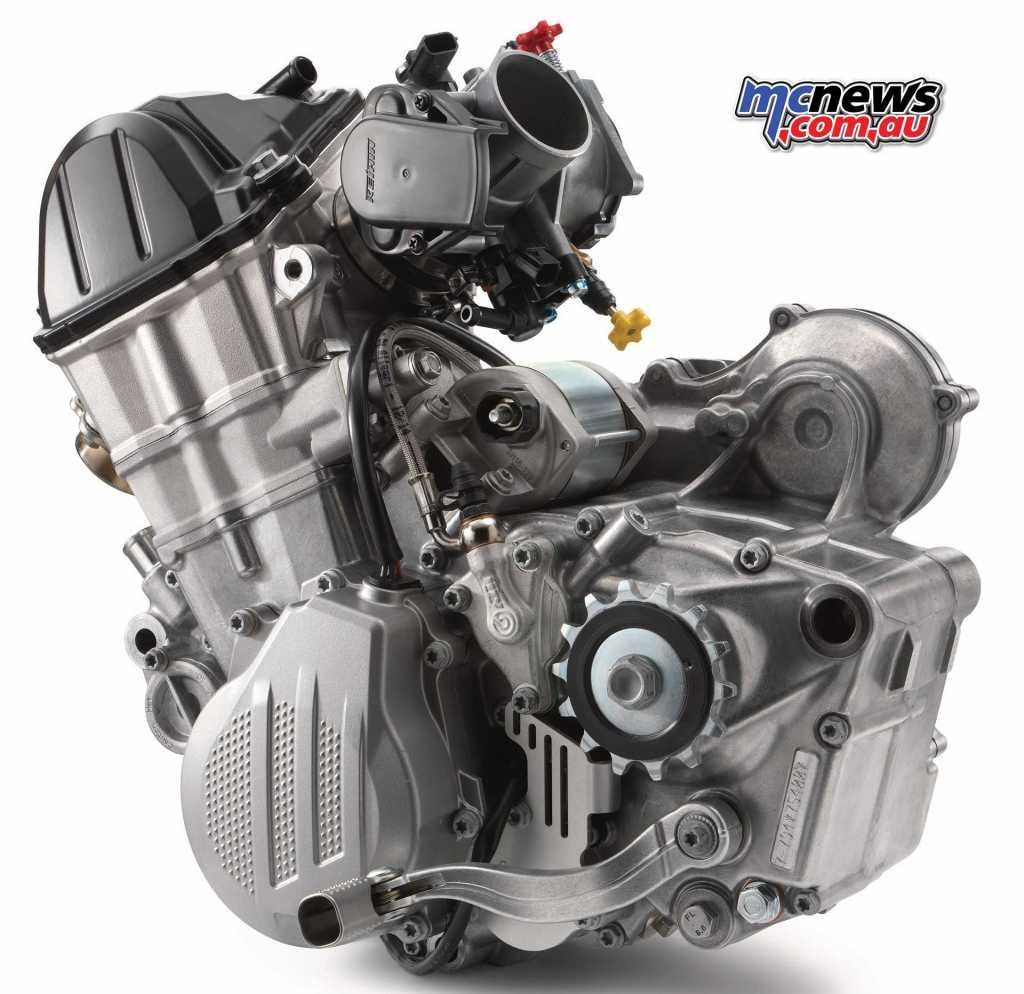 2019 KTM 500 EXC Engine
