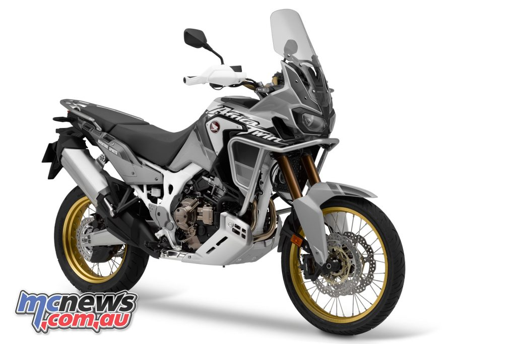 AfricaTwin Adventure Sports Digital Silver Metallic