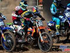 MX2 saw Thomas Kjer Olsen the victor from Prado and Jonass