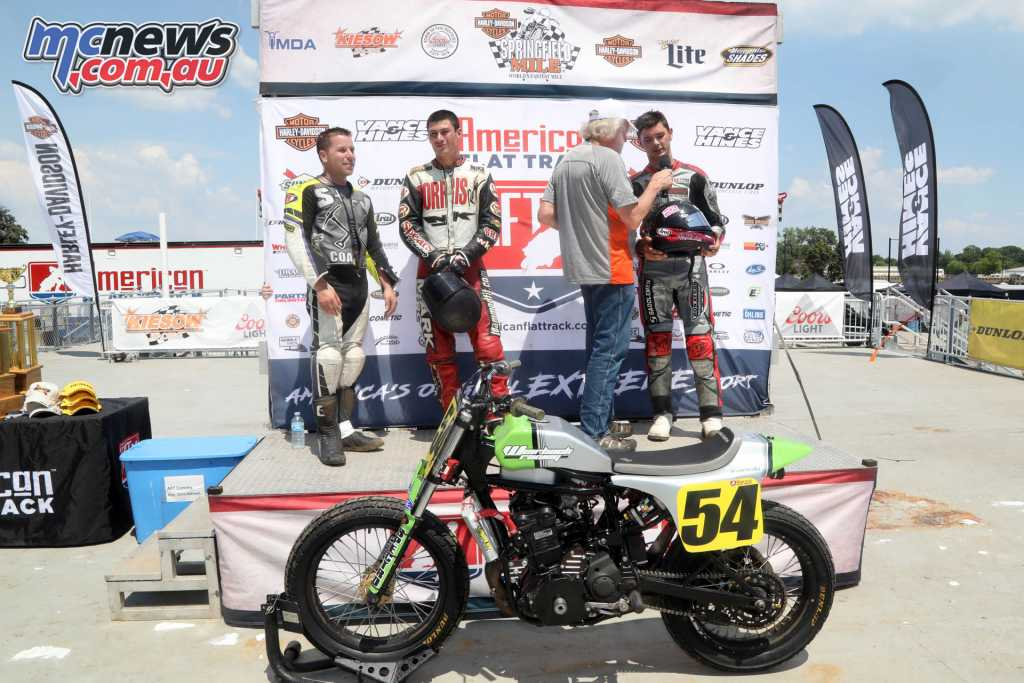 AFT Production Twins Podium