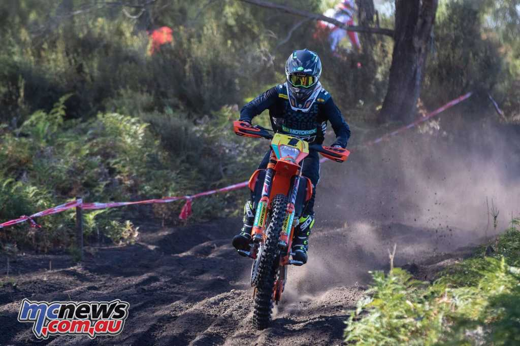 Daniel Milner proved unstoppable across both rounds at Hedley