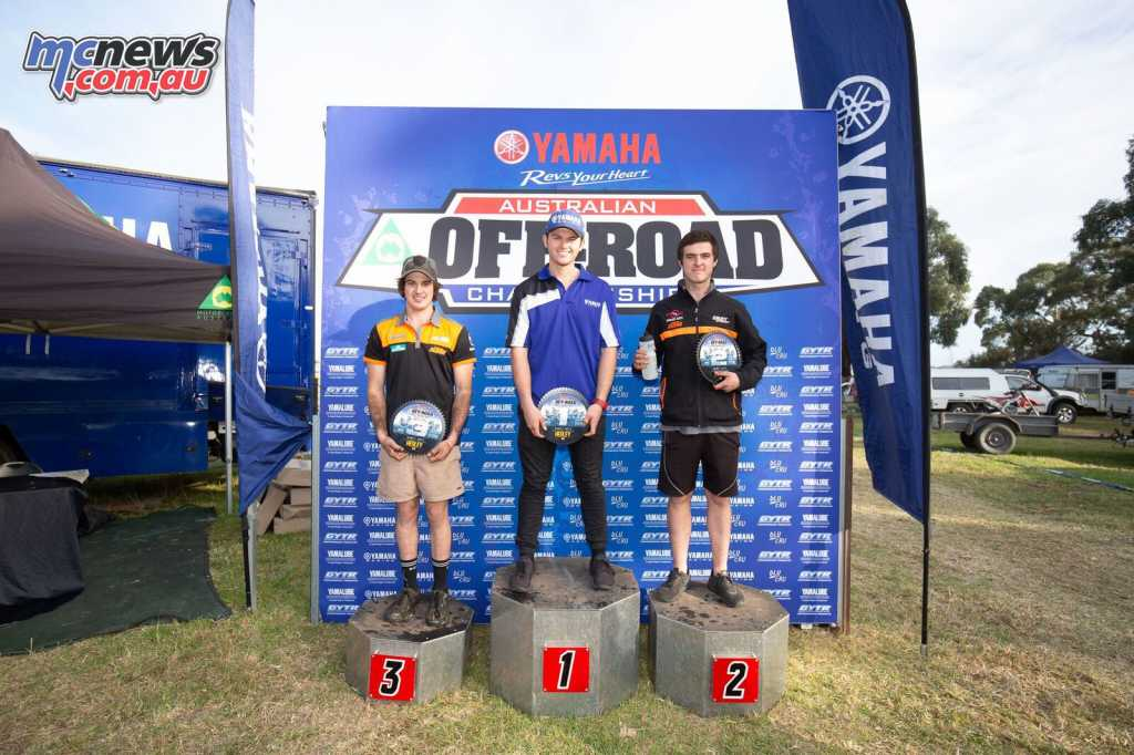 Driscoll took the EJ Round 4 podium from Semmens and Johnson