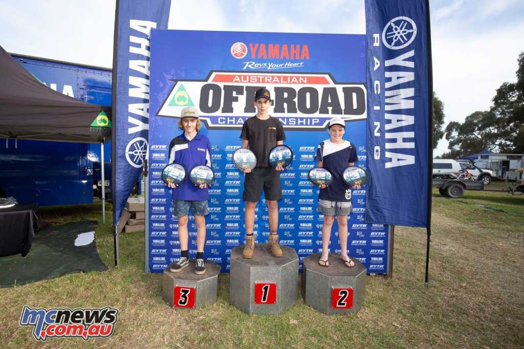 Angus Riordan topped the J2 Round 4 podium from Bill Hargy and Mackenzie Johnson