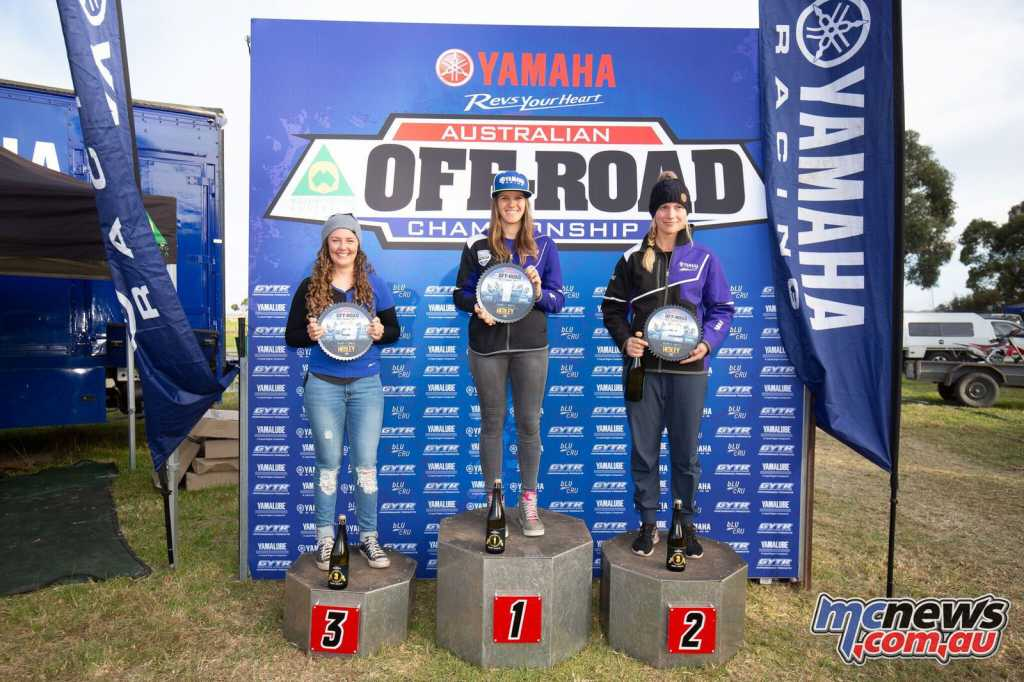 Jess Gardiner won the Women's Round 4, from Emelie Karlsson and Jemma Wilson