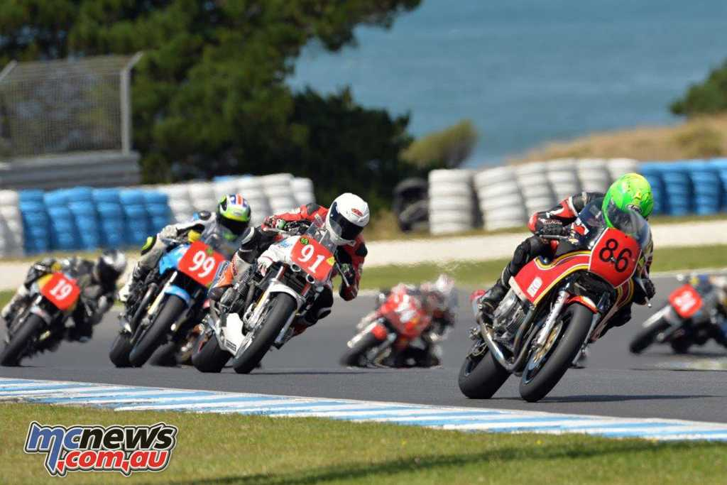 The Superbike Masters will include the following classes, racing together - P5 Formula 1 P5 Unlimited P6 Formula 750 P6 Formula 1300