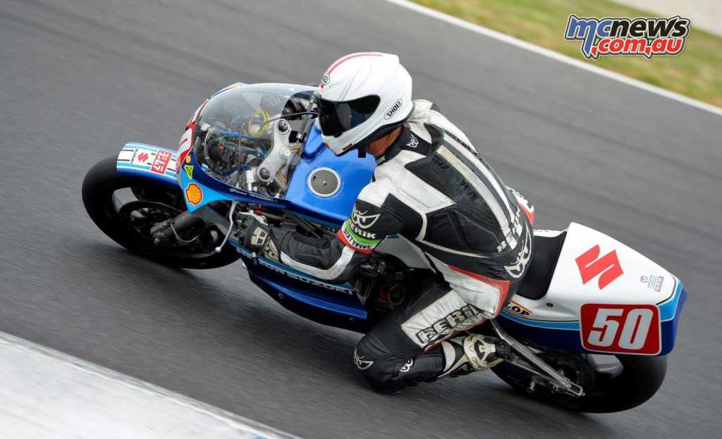 Glenn Hindle - Superbike Masters
