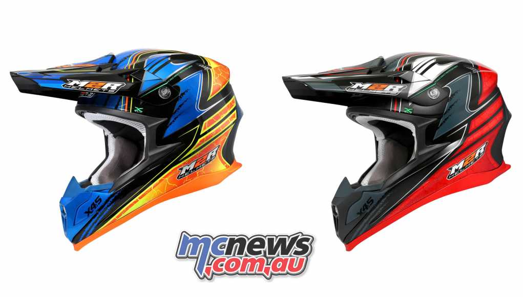 The M2R X4.5 Helmet - Brett Metcalfe Replica