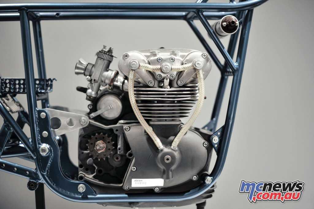 1958 Hailwood 125 Desmo