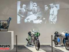 Ducati Museum - Mike Hailwood Desmo Twins