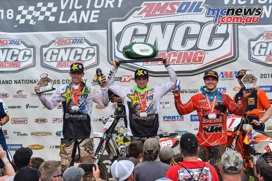 Duvall and Strang Top Russell at Ohio GNCC