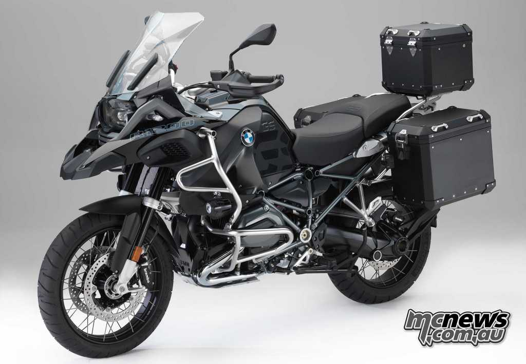 'Edition Black' BMW accessories for R 1200 GS