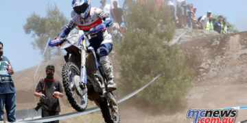 Jamie McCanney on his way to E1 victory at the Portugese EnduroGP
