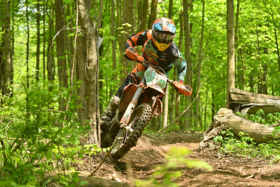 XC2 250's Josh Toth - GNCC 2018 - X-Factor Whitetails - Image by Ken Hill