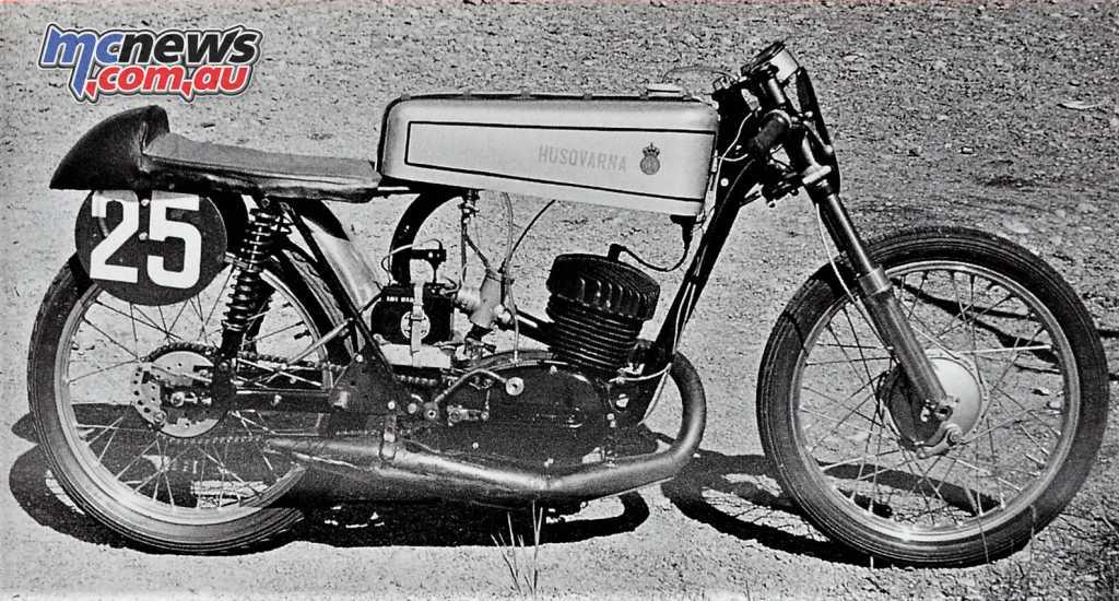 Husqvarna's 250cc TT Racer