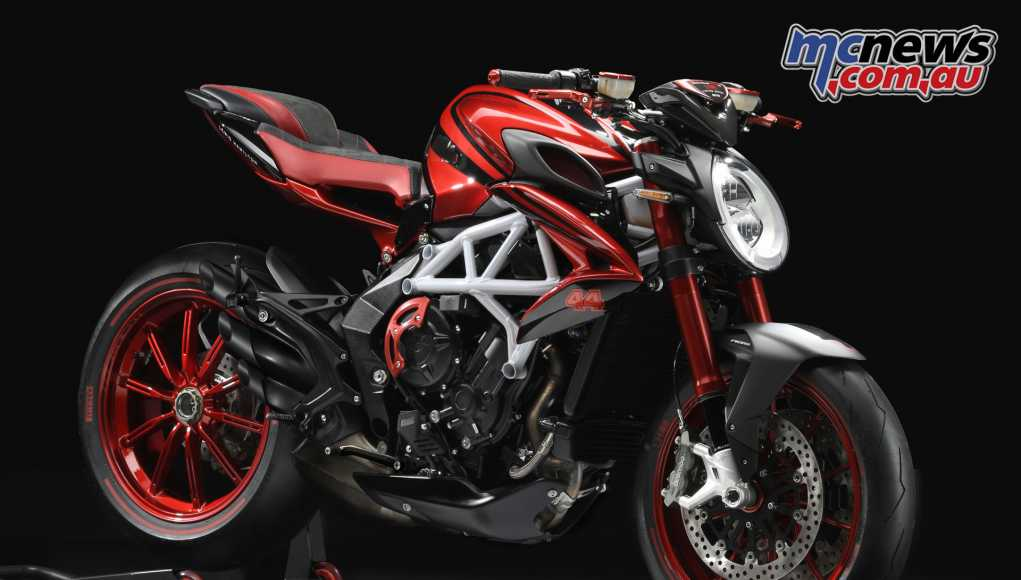 MV Agusta to release a new Limited Edition Lewis Hamilton model - the Brutale 800 RR LH44