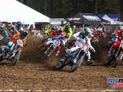 Dean Ferris leading the MX1 field