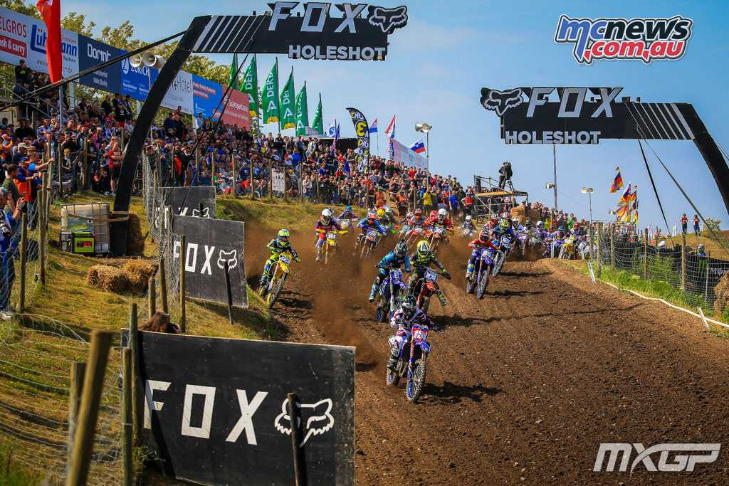 Duncan Courtney leading the WMX field